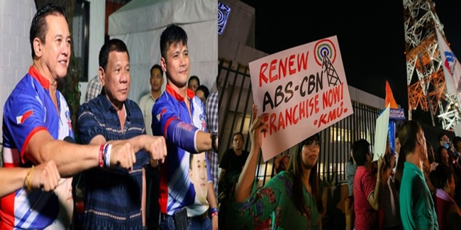 Robin Padilla & Philip Salvador ABS-CBN franchise