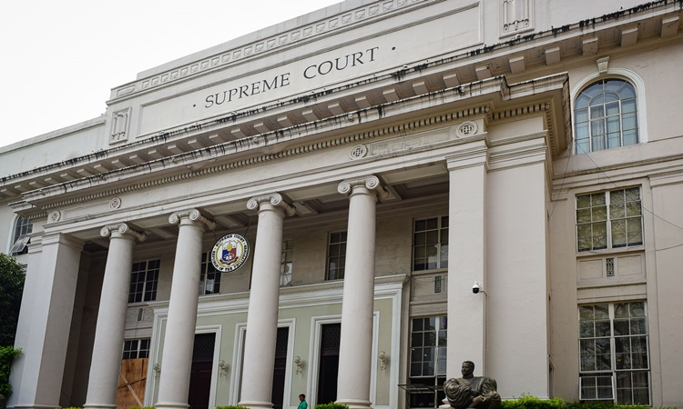 Supreme Court of the Philippines Facade