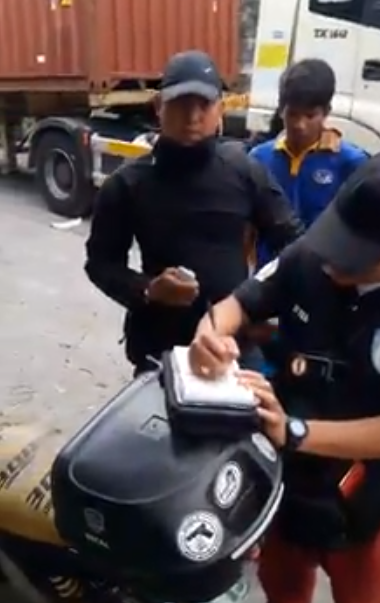 Traffic Cops Charges