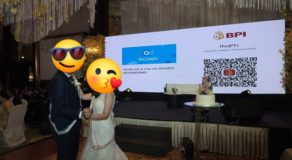 Wedding Prosperity Dance with QR Code and GCash Instead of Cash Goes Viral