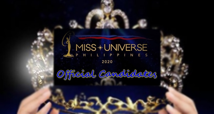 miss universe philippines 2020 official candidates
