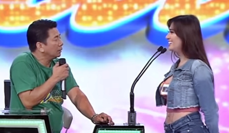 willie revillame reacts to model