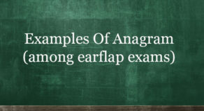 Examples Of Anagram – Even More Examples Of Arranging Words