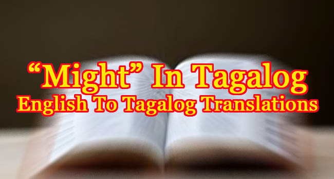 MIGHT IN TAGALOG