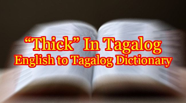THICK IN TAGALOG