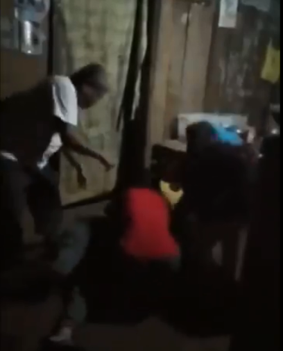 Man Punches Daughters During Intense Argument (VIDEO)