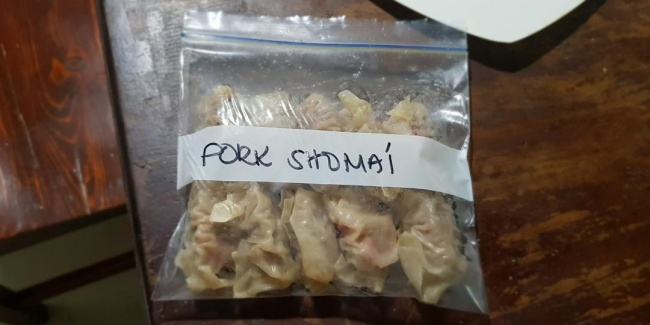 Hundreds Of Siomai In Albay Town Seized, African Swine Fever Suspected
