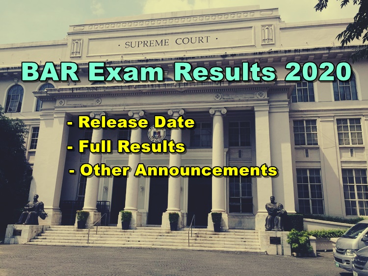 BAR Exam Results