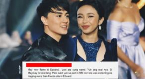 Maymay Entrata Deletes All Photos Of Edward Barber On Instagram
