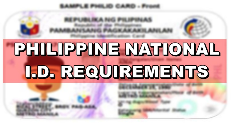 National ID Requirements
