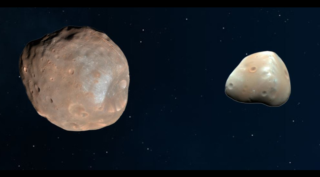 TWO MOONS OF MARS