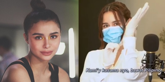 Yassi Pressman song for frontliners