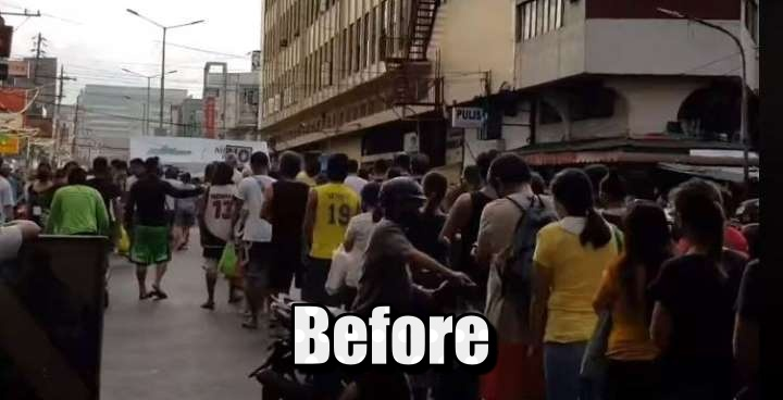 Blumentritt Market Less Crowded After Strict Physical Distancing Policy