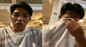 Francis Leo Marcos Becomes Emotional for Criticisms Despite Good Deeds