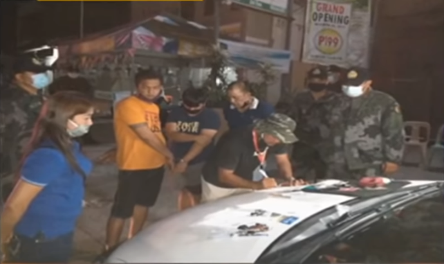 3 Men Nabbed in Checkpoint
