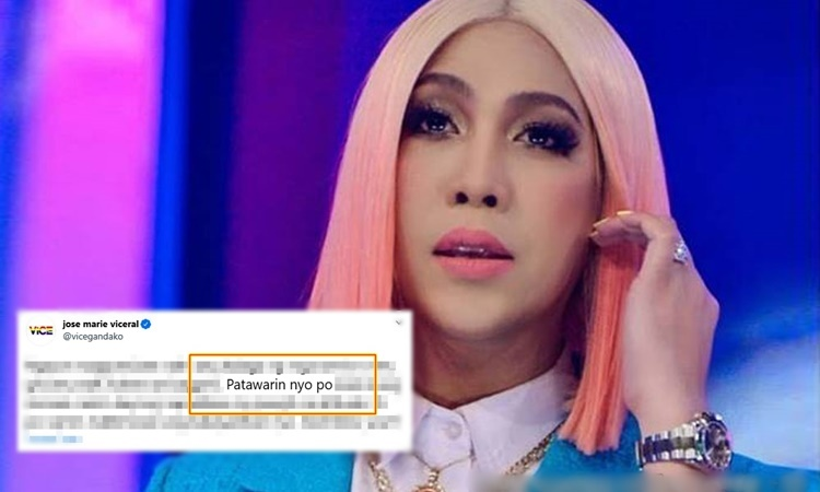 vice ganda apologizes