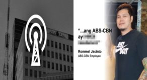 ABS-CBN Cameraman Before Tells Another Story Amid Franchise Issue
