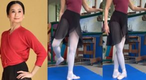 VIDEO: Lisa Macuja Gives Ballet Lessons At Home Despite Quarantine