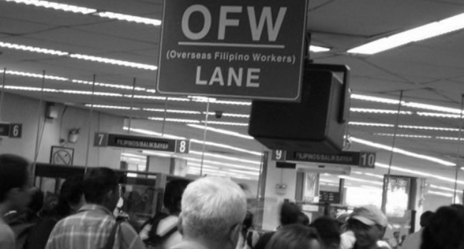 4000 OFWs Sent Home After Testing Negative For COVID