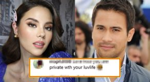 Catriona Gray's Silence On Relationship w/ Sam Milby Elicits Reactions
