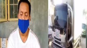 Traffic Cop Apprehends Truck Driver & Passengers Over Alleged Social Distancing Violation