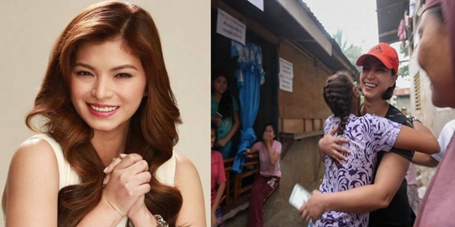 Angel Locsin help others