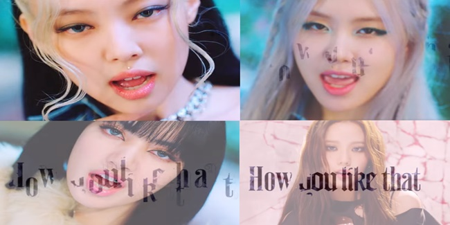 BLACKPINK HOW YOU LIKE THAT music video teaser