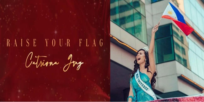 Catriona Gray Raise Your Flag 3
