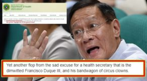 Duque Sad Excuse For Health Secretary Says Expert From Johns Hopkins