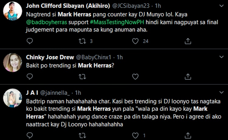 mark herras comments