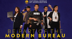 Netizens Poke Fun at NBI Agent Recruitment Poster Due to Models' Make-Up