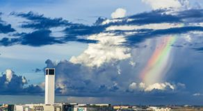 Beautiful Rainbow Clouds Spotted in Cebu City Amid Pandemic Goes Viral