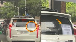 """""""Do Not Delay Natatae Ako"""" Notice Attached at Car's Rare Window Goes Viral"""