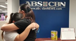 ABS-CBN Employees Emotional Over Denial of Franchise Bid
