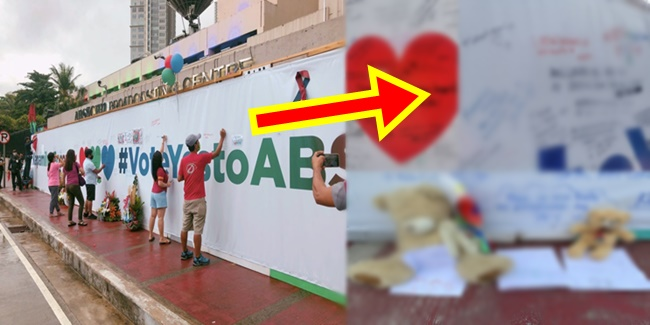 ABS-CBN Freedom wall 7