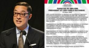 ABS-CBN President Carlo Katigbak Issues Statement After Franchise Denial