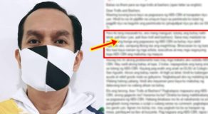 ABS-CBN Writer Alex Calleja Pens Open Letter For Network's Bashers