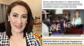 Aiai Delas Alas Death Is Fake News, Kapuso Actress Reacts To This