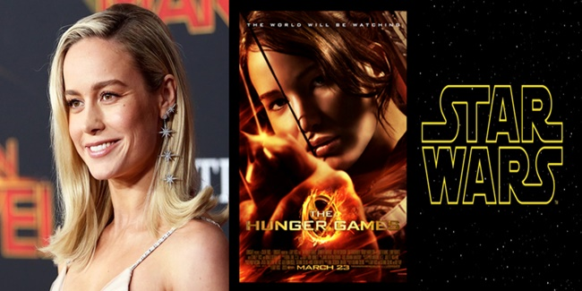 Brie Larson Hunger Games & Star Wars