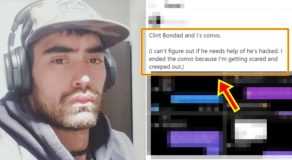 Clint Bondad: Scared Lady Netizen Reveals Private Conversations w/ Him