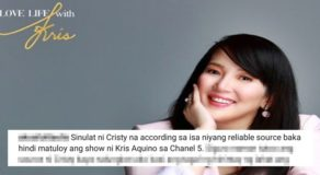 Kris Aquino Show w/ Channel 5 Postponed? Cristy Fermin Source Reveals