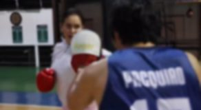 Manny Pacquiao Trains Wife Jinkee in Boxing (Video)