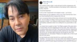 Martin Nievera Posts Open Letter For Lawmakers Over ABS-CBN Issue