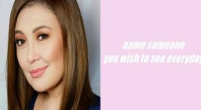 Sharon Cuneta Reveals People She Want To See Every Day