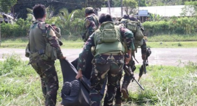 Soldier Shot, Stabbed, & Burned In Samar Resulting To Brutal Death