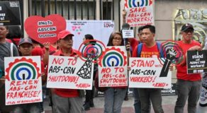 ABS-CBN Franchise: Palace Expects Congress To Consider Workforce