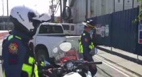 35 Motorists Have Been Charged with Various Violations in Bike Lane in QC