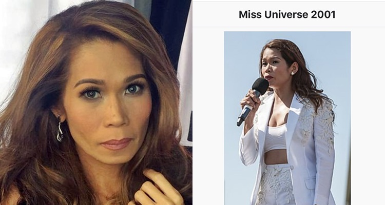 crowned miss universe 2001 pokwang