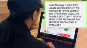 Lazada Delivery Scam/Shopee Delivery Scam You Should Watch Out For!