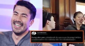 Luis Manzano has this Reaction to Alex Gonzaga's Tongue Prank Video